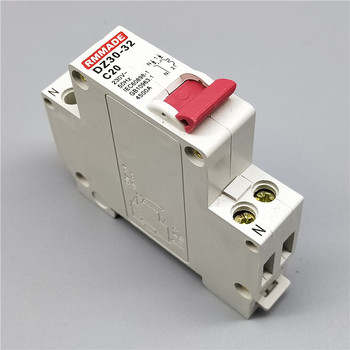 цена на DZ30-32 TPN DPN 1P+N Mini Circuit breaker MCB 10A,16A,20A,25A,32A Mini Circuit Breaker Cutout Miniature Household Air Switch