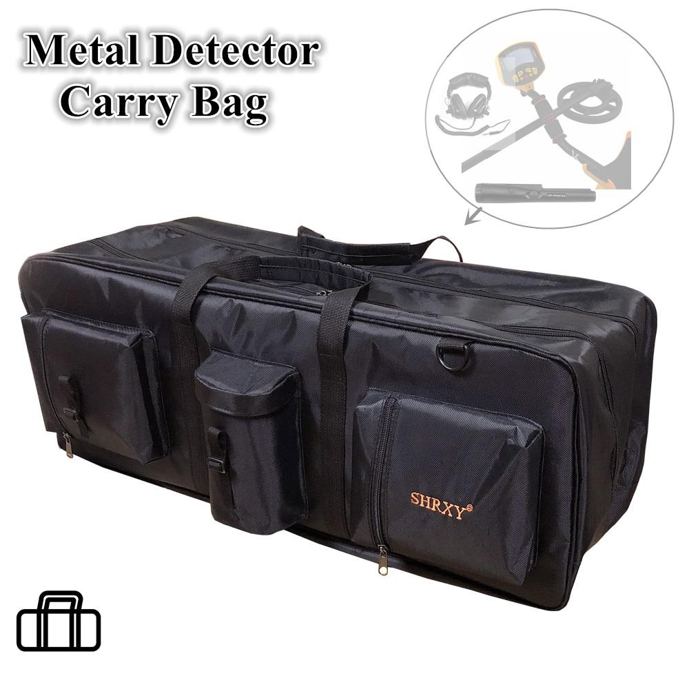 Metal Detector Carry Bag Portable Waterproof Canvas Storage Bag Multifunction Carry Tools Organizer Treasure Hunt Backpack