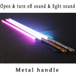Neue Cosplay Lichtschwert Mit Led Licht Sound Wirkung Geistige Griff Verschiedene Farben Vorhanden Geschenk Für Kinder