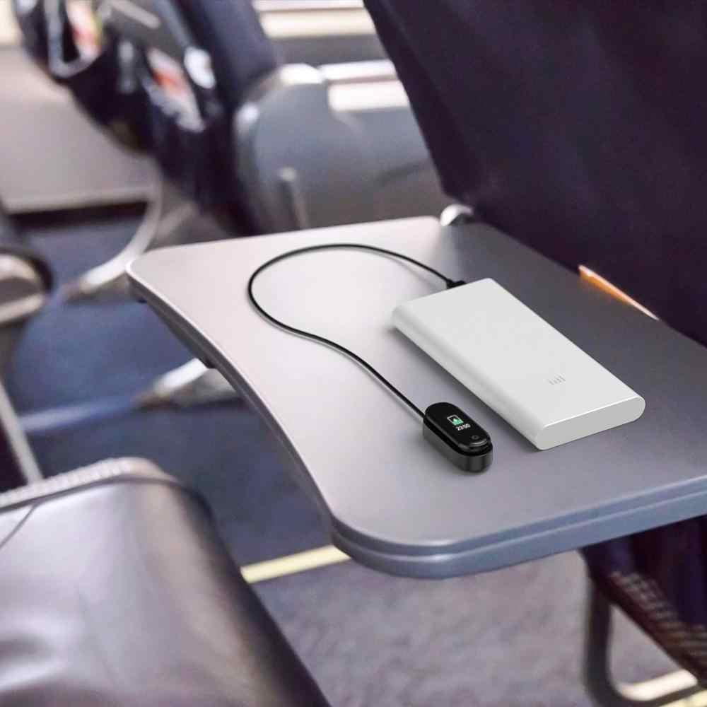 Cargador de reloj para Xiaomi Miband 4 Correa cargador Cable BASE DE DATOS Dock Cable de carga para Xiaomi MiBand 2 3 4 cargador USB