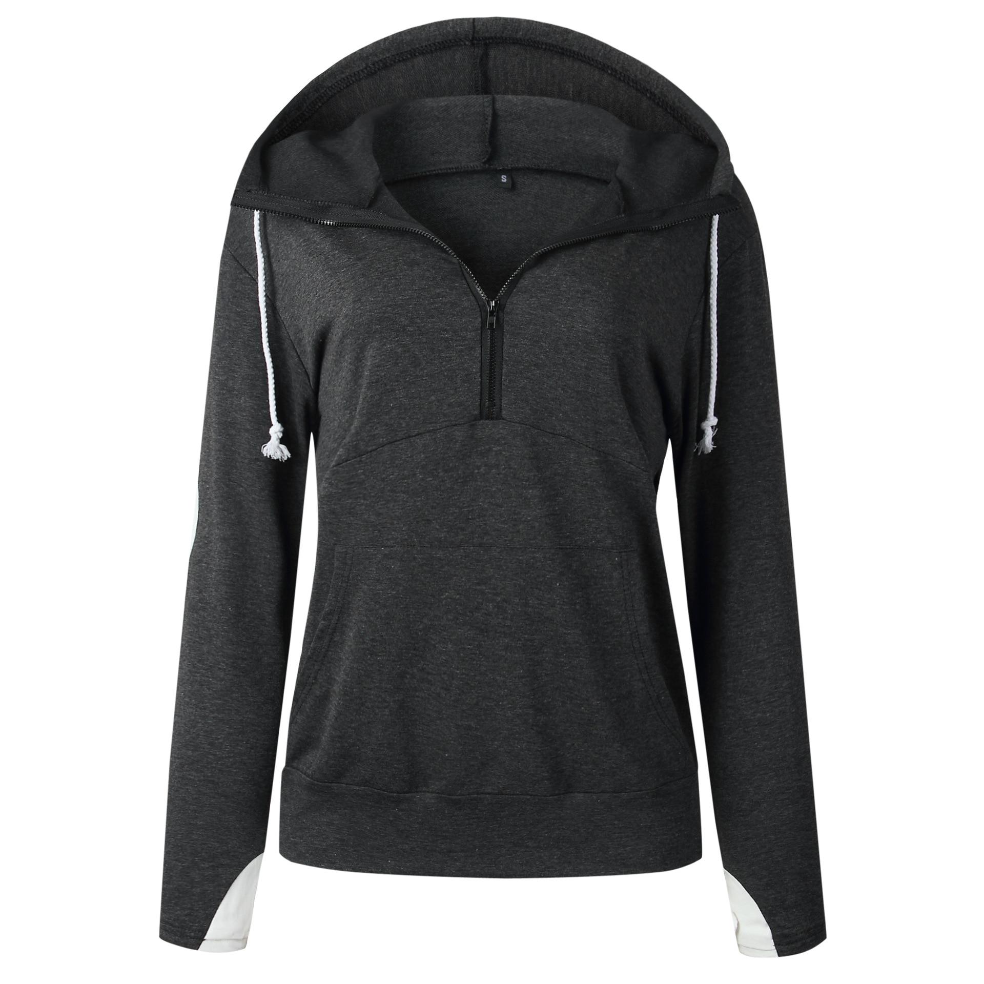 Kawaii Heart Pattern Hoodies Sweatshirts Women 2019 Autumn Winter Zipper Sweat Hooded Pullovers Pocket Streetwear Hoody Tops in Hoodies amp Sweatshirts from Women 39 s Clothing