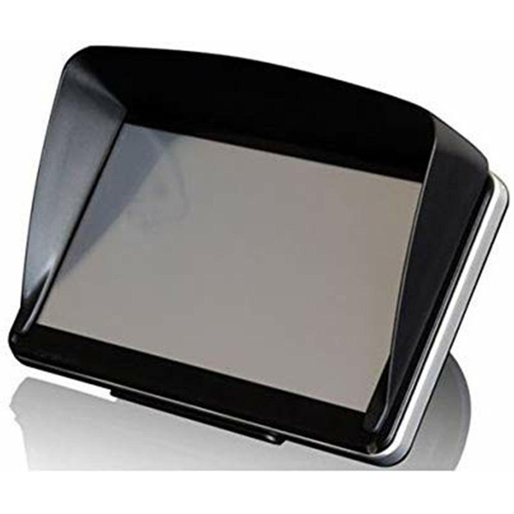 Universale Schermo Visiera Cappuccio Tenda Da Sole Lens Protector Shield Volo Design Aerodinamico Per 5 Pollici di Navigazione Gps