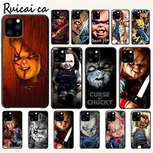RuiCaiCa Chucky Horor Churse Luxury Phone Case Funda For Iphone 5s Se 2020 6 6s 7 8 Plus X Xs Max Xr 11 Pro Max Cases Cover kisscase natural wood bamboo phone cases for iphone x xs max xr cover plain phone cases for iphone 5 5s se 6 6s 7 8 plus funda