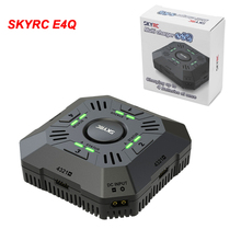 цена на SKYRC Multi Balance Charger E4Q 4-Port XT60 DC Discharger for 2-4S LiPo Drone Battery Charging Adjustable Current 2A 3A 5A