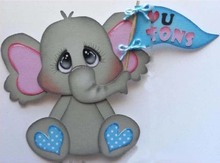 Animal Elephant Metal Cutting Dies for Scrapbooking