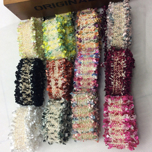 3cm 10yards Meetee Multi-color Lace Ribbon Korean Toothbrush Hair Diy Jewelry Bow Collar Clothing Accessories