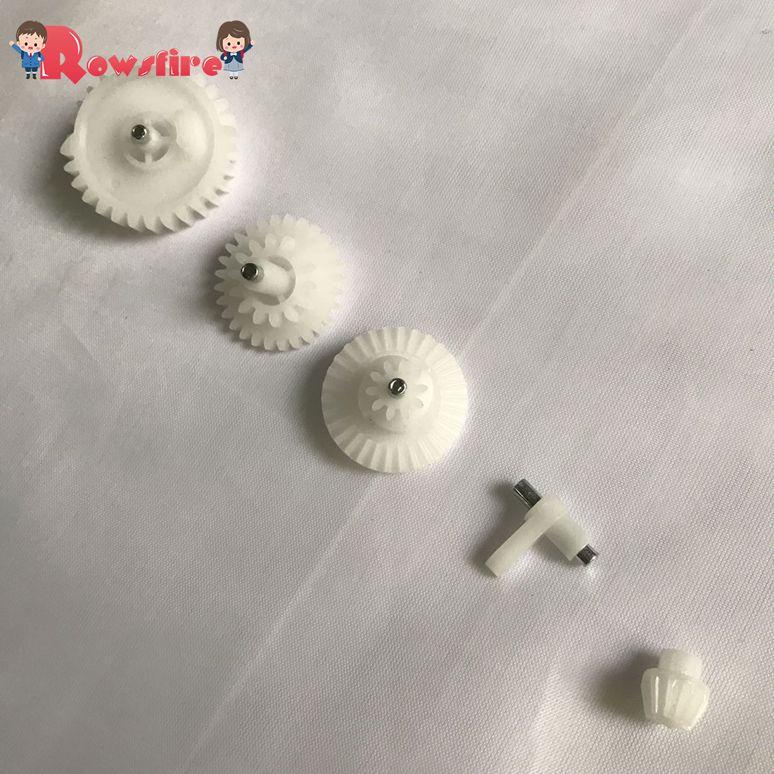 New Arrival 1 Pcs Water Gel Beads Parts Original Gear Set For RX <font><b>AK47</b></font> Water Gel Beads Blaster <font><b>Gun</b></font> <font><b>Toy</b></font> Parts- White image