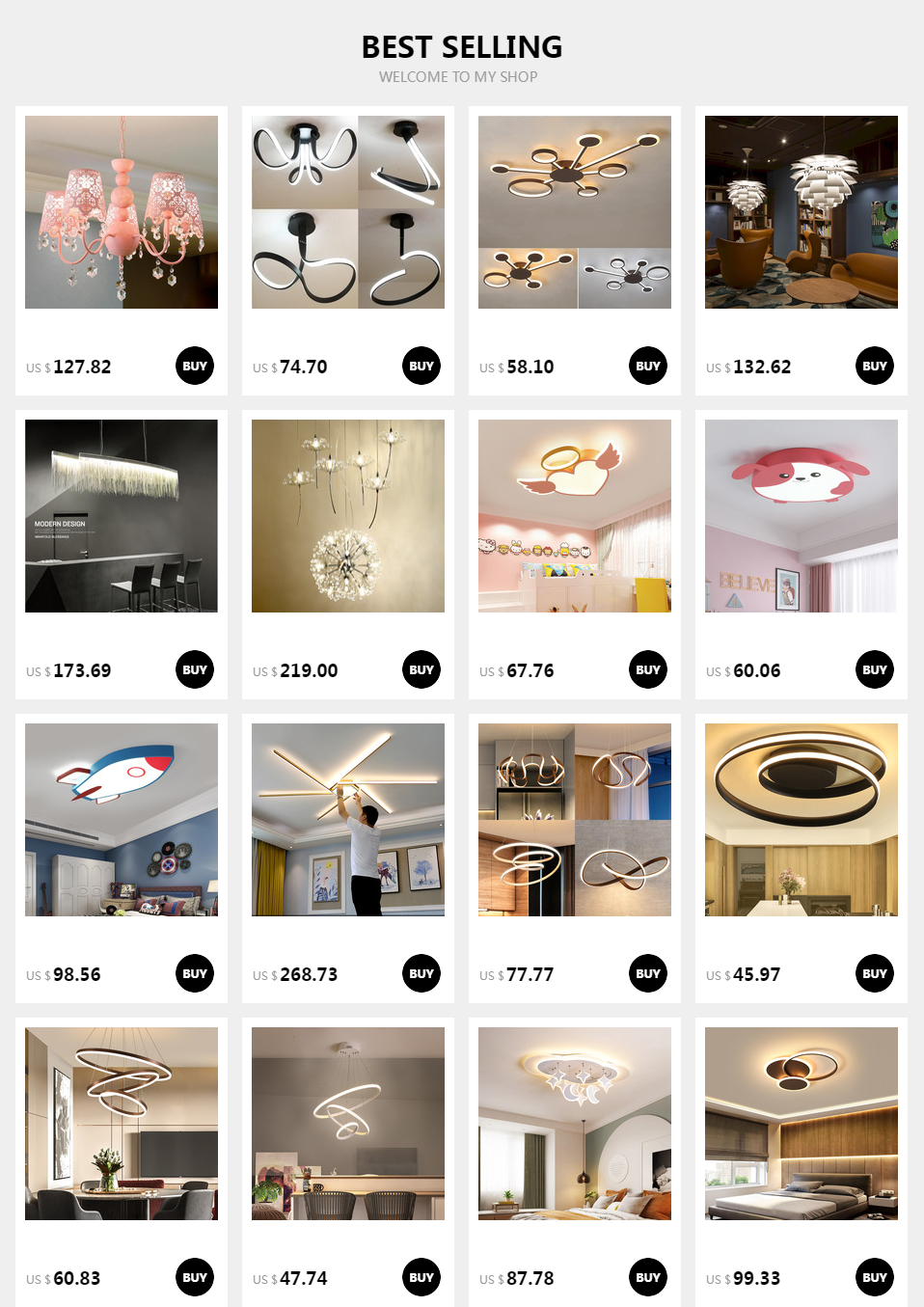 H5475c8f3de9746bcad5dfe43066a6d2eQ New Design Acrylic lotus Led Ceiling Lights For Living Study Room Bedroom lampe plafond avize Indoor Ceiling Lamp Free Shipping