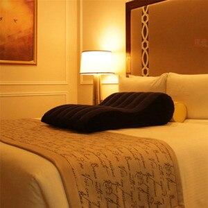 Image 5 - Sexo, sofá de tounghage cama inflable cuña almohada sexual silla inflable cojín de posición de amor pareja equipo para sexo muebles eróticos