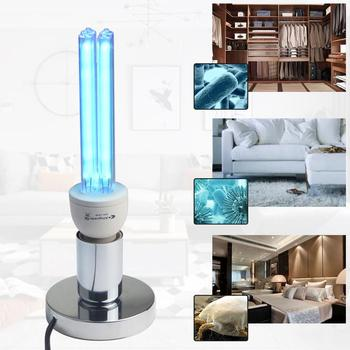 15w 25w uv lamp quartz germicidal disinfection uvc cfl ozone led light bulb ultraviolet sterilizer bacterial kill mite home lamp