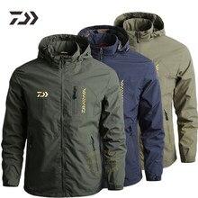 Los hombres de pesca chaqueta delgado de otoño ropa de pesca resistente al agua duradero de pesca Pesca camisa Multi-Bolsillo ropa al aire libre de los hombres abrigo