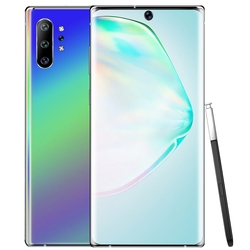 (US Plug) 6.5 Inch Android 9.1 Note 10 1GB +8GB Full Screen Smartphone Mobile Phone