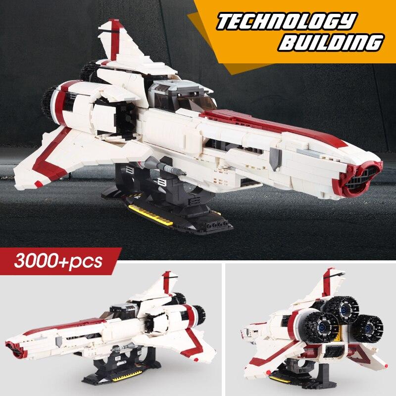 El Plan estelar serie Colonial Viper MkII Compatible MOC9424 bloques de construcción ladrillos juguetes educativos regalos de cumpleaños