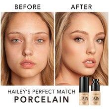 Жидкий тональный крем FOCALLURE для жирной кожи лица, сплошное нанесение, простота применения, нежная основа под макияж лица