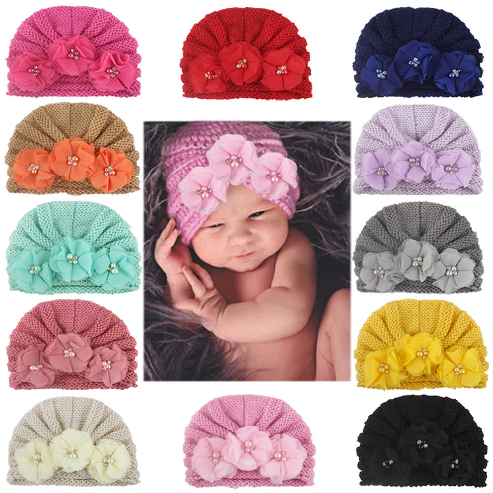 Soft ทารกแรกเกิดทารกหมวกหมวกหมวกสีหมวก Headwear สำหรับเด็ก Props ถ่ายภาพเด็กฤดูหนาว Beanie หมวก