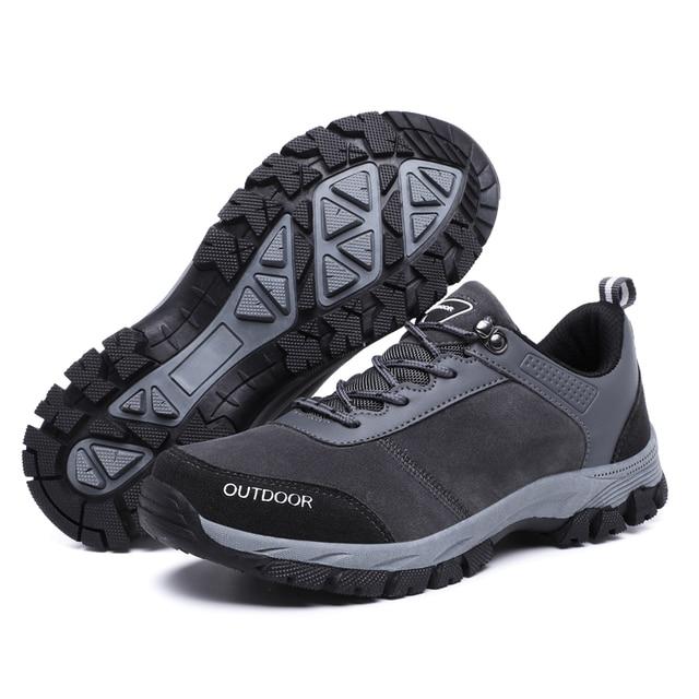 Zapatos de senderismo para hombre zapatillas deportivas impermeables botas de monta a calzado t ctico de