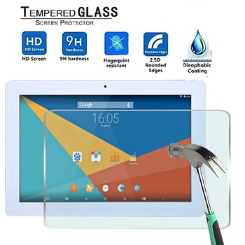For Teclast X16 Plus -Premium Tablet 9H Tempered Glass Screen Protector Film Protector Guard Cover for teclast p10 9h premium tablet tempered glass screen protector film protector guard cover