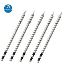 Originele Quick TS1200A Loodvrij Soldeerbout Tip Lassen Pen Tool TSS02 SK TSS02 I TSS02 1C TSS02 J TSS02 KK Lassen Iron Tip