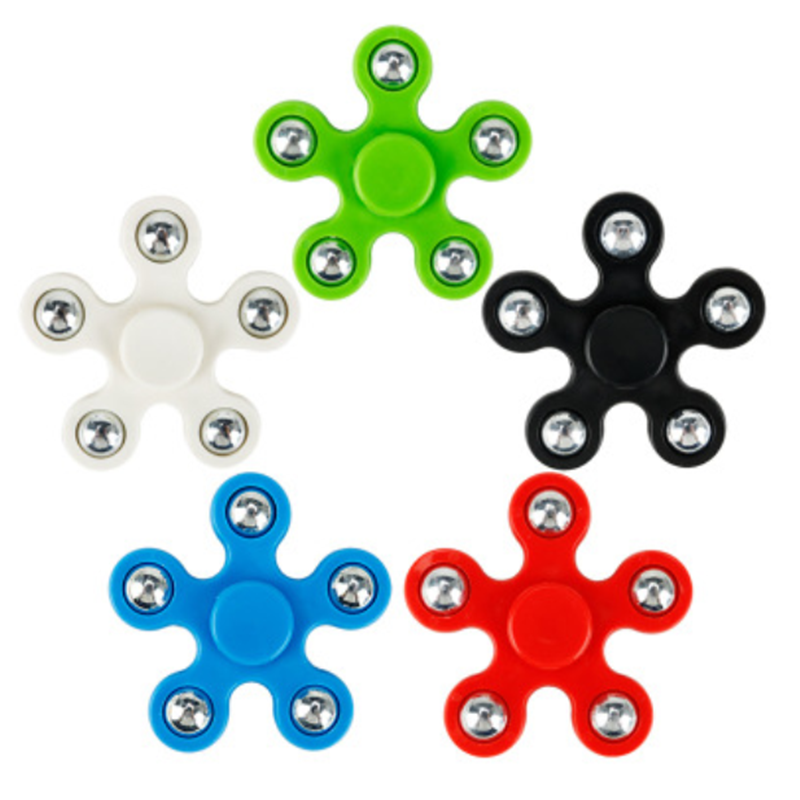 1PC Fidget Spinner EDC Spinner For Autism ADHD Anti Stress Tri-Spinner High Quality Adult Kids Funny Toys KQ1595