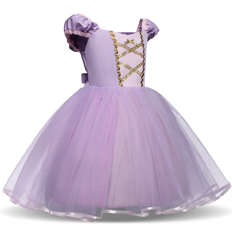 H5477057b7f7d425983f2ad420e924a2eU Infant Baby Girls Rapunzel Sofia Princess Costume Halloween Cosplay Clothes Toddler Party Role-play Kids Fancy Dresses For Girls