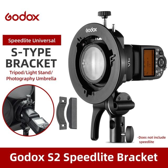 Godox S2 bowensのマウントフラッシュs型用godox V1 V860II AD200 AD400PROスピードライトフラッシュ鼻であしらうソフトボックス