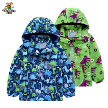 Warm Waterproof Boys Jacket 2020 Spring Autumn Baby Windproof Jackets Boy Coats Child Hooded Children Outerwear For 3-12 T