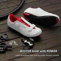 Sanmao SH-IC500 Fietsen Schoen Racefiets Fietsen Spin Schoen Dual Cleat Compatibiliteit