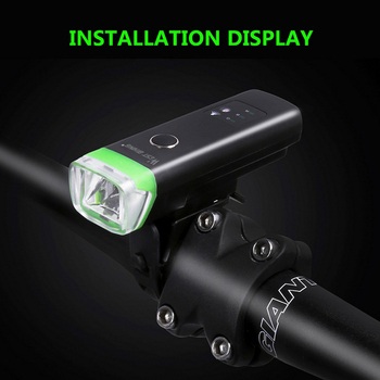 New Smart Induction Bicycle Front Light Set USB Rechargeable Bike Rear Light LED Headlight Bike Lamp Cycling FlashLight for Bike usb rechargeable bike light 300 lumen 3 mode bicycle front light lamp bike headlight cycling led flashlight lantern