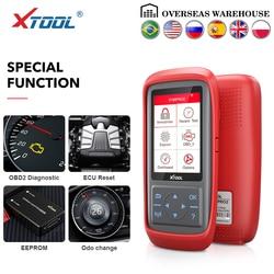 XTOOL X100 Pro OBD2 авто ключ программист/Регулировка пробега включая EEPROM код читателя с бесплатным обновлением