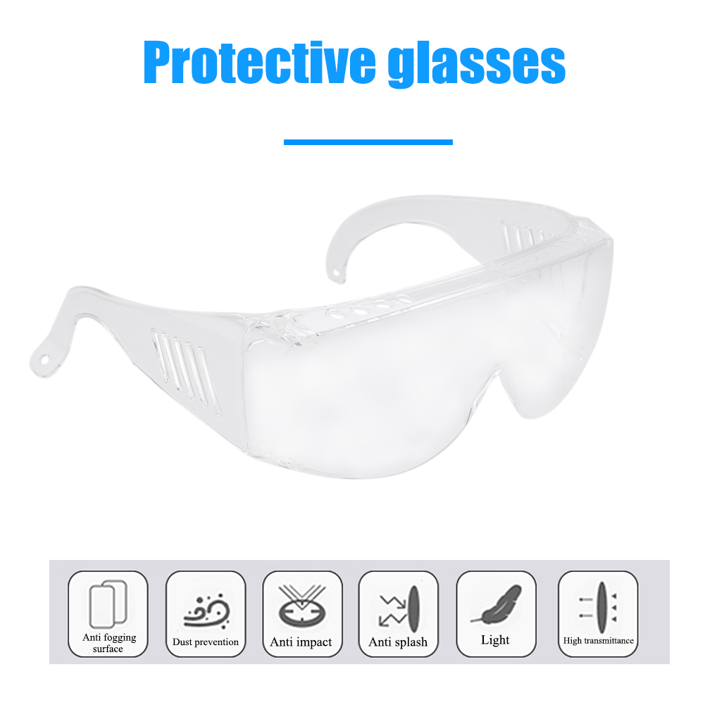 Dust-proof Anti-splash Protective Glasses Professional Windproof Safety Goggles Lab Dental Eyewear Splash Eye Protect Glass