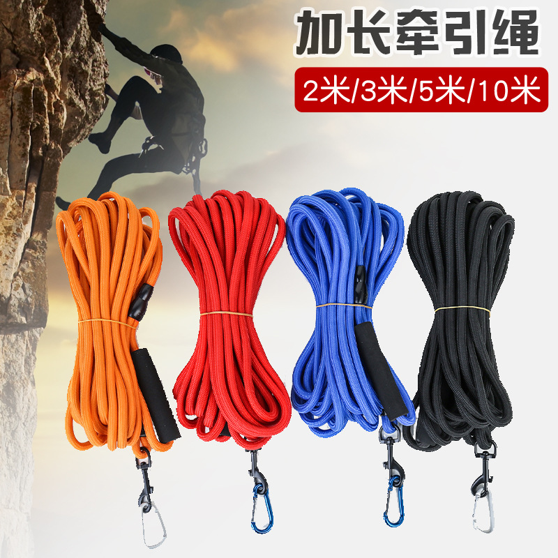 Dog Golden Retriever Lanyard Training Lengthen 3 M 5 M 10 Traction Rough Recall Small Chinlon Dogs Dog Leash Dog Universal