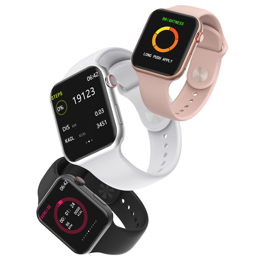 A5 Max Smart Watch 1.54 Full Touch Screen HeartRate Blood Pressure Monitor Waterproof Sport Smartwatch Tracker IOS PK F10 IWO8 9 (8)