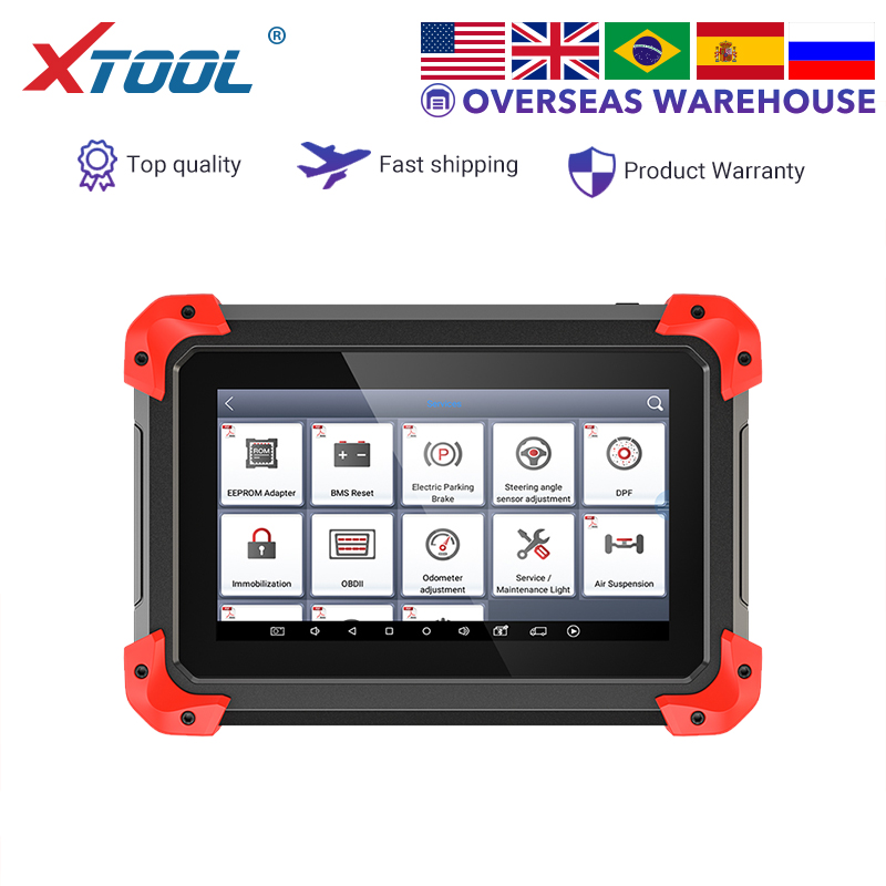 XTOOL X100 PAD OBD2 Auto Key Programmer Odometer Adjustment Special Functions ECU ABS EEPROM Adapter Code Reader Lmmo Update New