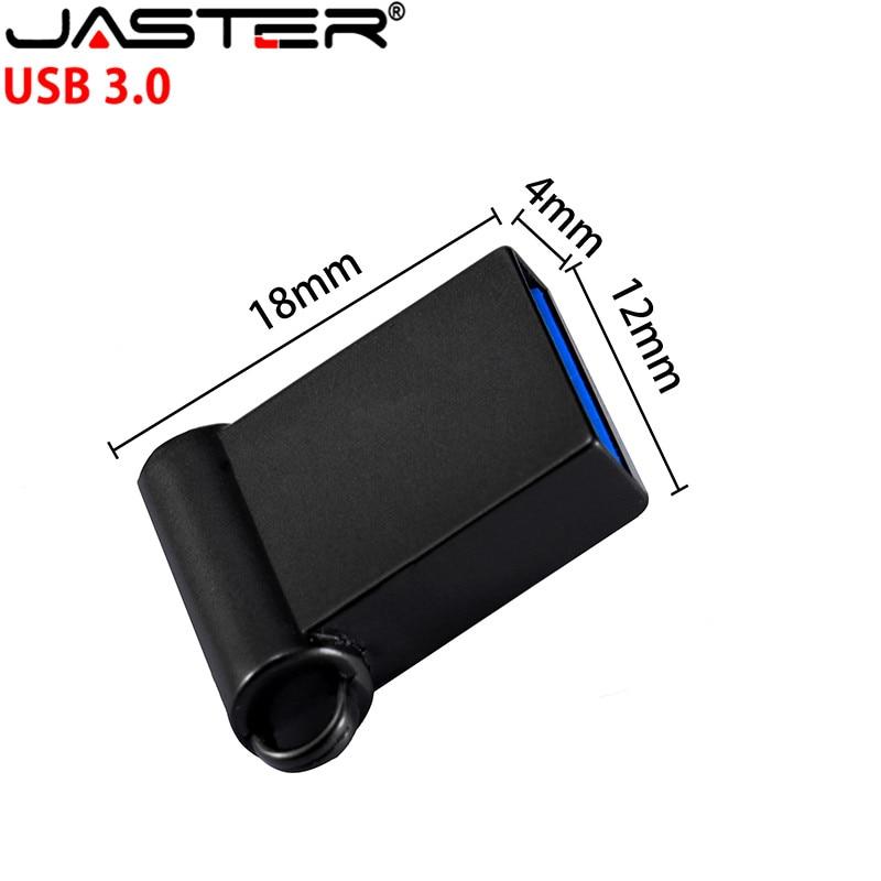 Super Mini Metal Usb 3.0 Flash Drive 64GB 32GB 16GB 8GB 4GB Flash Drive Portable 128GB Memory Stick Pendrive Storage Flash Di