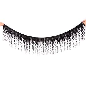 Image 2 - Karizma mèches péruvienne, cheveux non remy loose wave, 100% cheveux naturels, extension de cheveux, avec lace closure, lot de 4