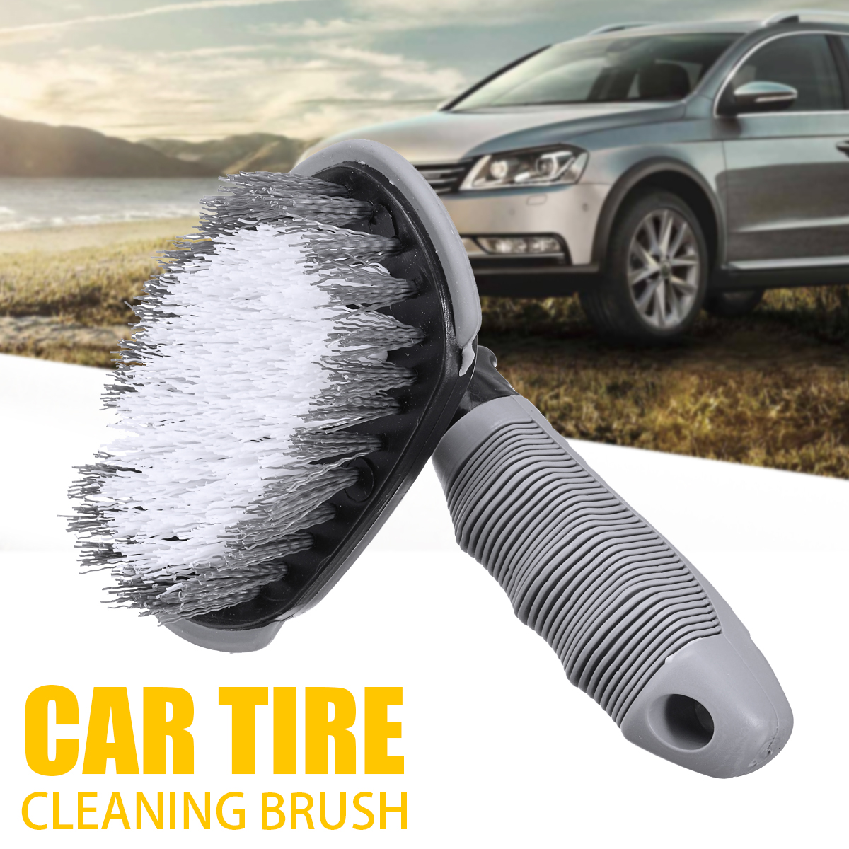 1pcs Car Wheel Tyre Cleaning Brush T Type Tire Rim Brush for Car Washing Cleaning Car Auto Maintenance Care Car Accessories|Sponges  Cloths & Brushes|Automobiles & Motorcycles - title=