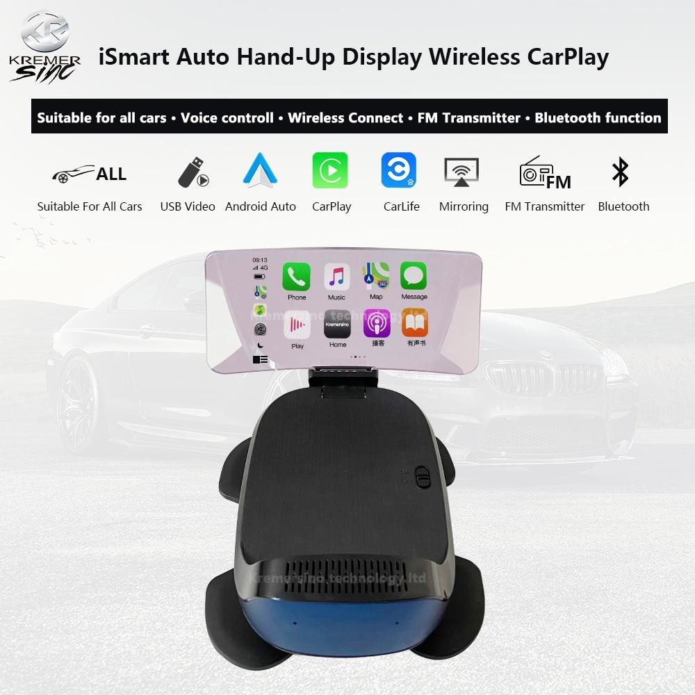 iSmart auto HUD Wireless CarPlay ...