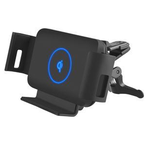 Image 5 - 10W Qi rapide voiture chargeur sans fil détection automatique support de voiture pour Samsung Galaxy pli Fold2 écran téléphone portable Huawei Mate X iPhone