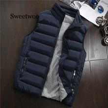 Spring Autumn Men New Stylish 2020 Vest Mens Plus Size 5XLWarm Sleeveless Jacket Men Winter Waistcoat Men's Vest Casual Coats