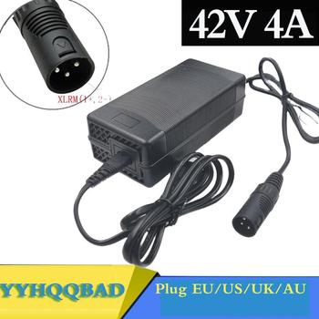 36V Charger 42V 4A electric bike lithium battery charger for 36V lithium battery pack with 3-Pin XLR Socket/connector new topcon bc 19b charger for topcon total stations bt 32q 2 pin battery