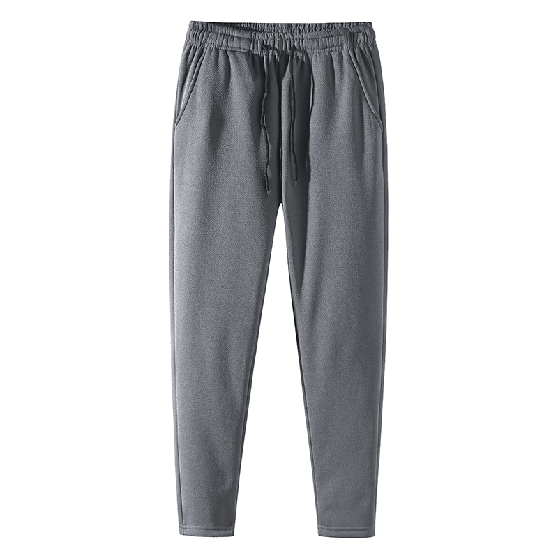 Men Winter Warm Sweatpants Warm Fleece Thick Pants Mens Loose Elastic Waist Pants Casual Pants Trousers Size M-5XL;YA351