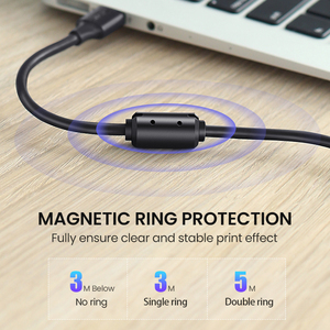 Image 5 - Ugreen USB Printer Cable USB Type B Male to A Male USB 2.0 3.0Cable for Canon Epson HP ZJiang Label Printer DAC USB Printer