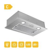 CIARRA CBCS5913A Hotte Aspirante 52cm Hotte de cuisinière en acier inoxydable Lampe LED 3 vitesses Ventilateur d'extraction sous l'armoire