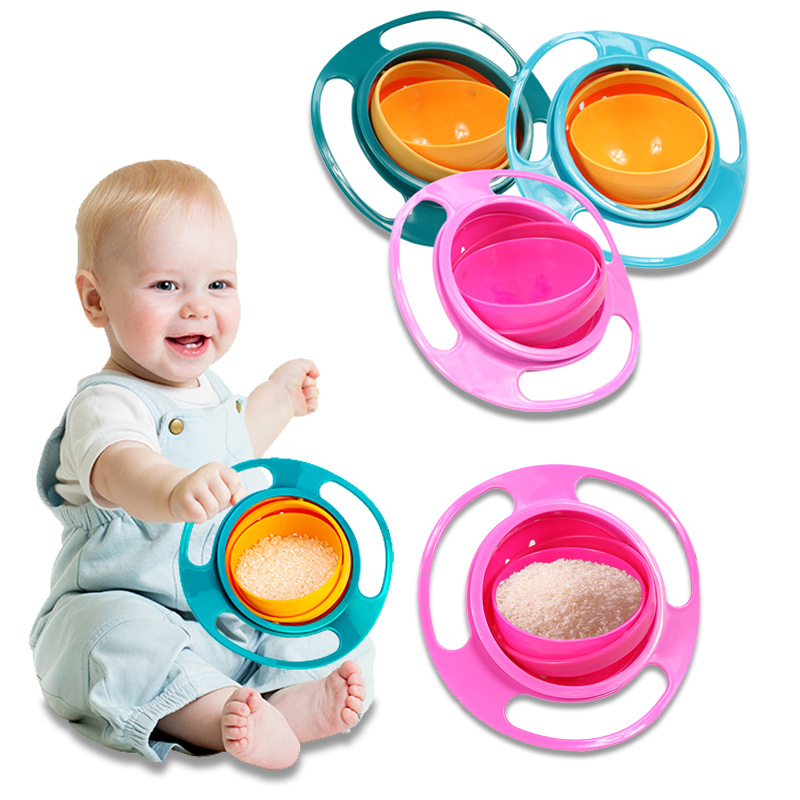 Universal Gyro Bowl Practical Design Children Rotary Balance Novelty Gyro Umbrella 360 Rotate Spill-