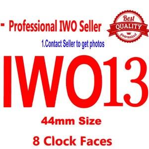 2020 nova iwo 13 relógio inteligente 1:1 44mm assista 5 w75m w75 suporte de oxigênio no sangue ecg pressão arterial monitor freqüência cardíaca smartwatch|Relógios inteligentes| |  -