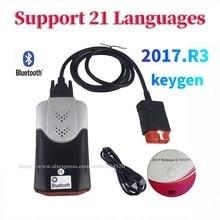 2021 Nieuwste 2017.R3 Met Keygen Vd DS150E Cdp Pro Bluetooth Voor Delphis Auto Truck Diagnostic Tool Obd Scanner Met Nieuwe Relais