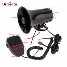 100W 12V 7 Sounds Car Truck Speaker Loud Siren Horn 105db with MIC New