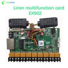 LINSN – carte multifonction EX902, réglage de la luminosité du capteur d'humidité et de température, RV908 RV901 TS802D TS852D