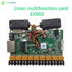 LINSN EX902 multifunction card Temperature Humidity Sensor Brightness Adjustment RV908 RV901 TS802D TS852D