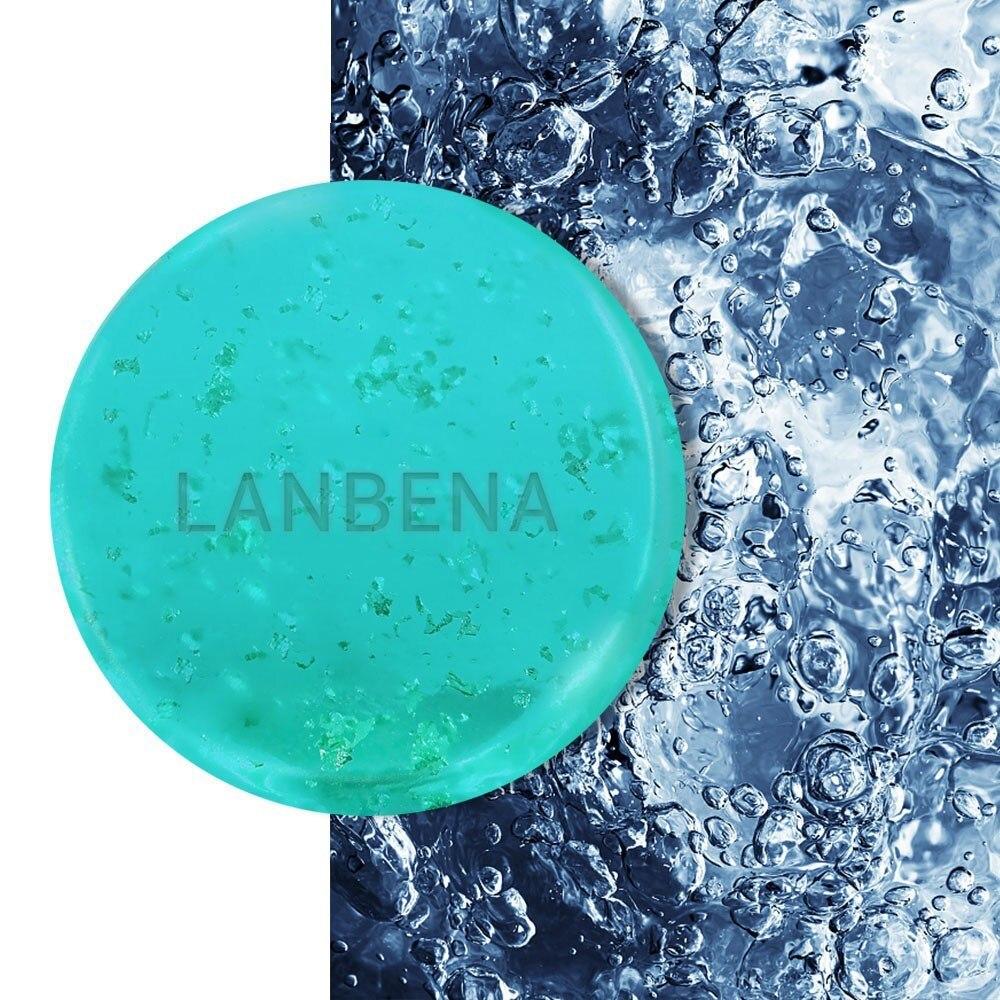 Handmade Soap LANBENA Tea Tree Oil Antibacterial Anti inflammatory Skin Repairing Facial Body Cleaning Product Anti Aning Winkl in Soap from Beauty Health